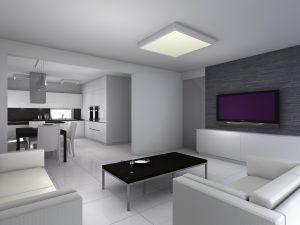 Interiér RD v minimalistickém stylu
