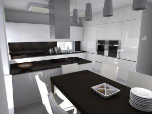 Kuchyně v minimalistickém provedení