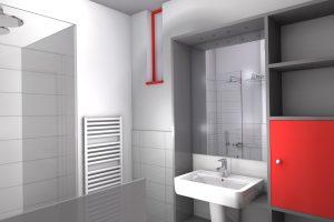 Vzorová koupelna do BD
