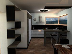 Návrh kuchyně II
