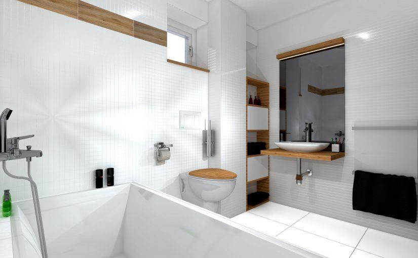 Koupelna se zabudovanou infrasaunou