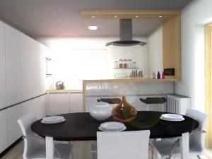 Návrh kuchyně III