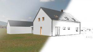 Klasický dům v Podbeskydí