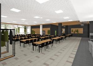 Jídelna - hlavní prostor III