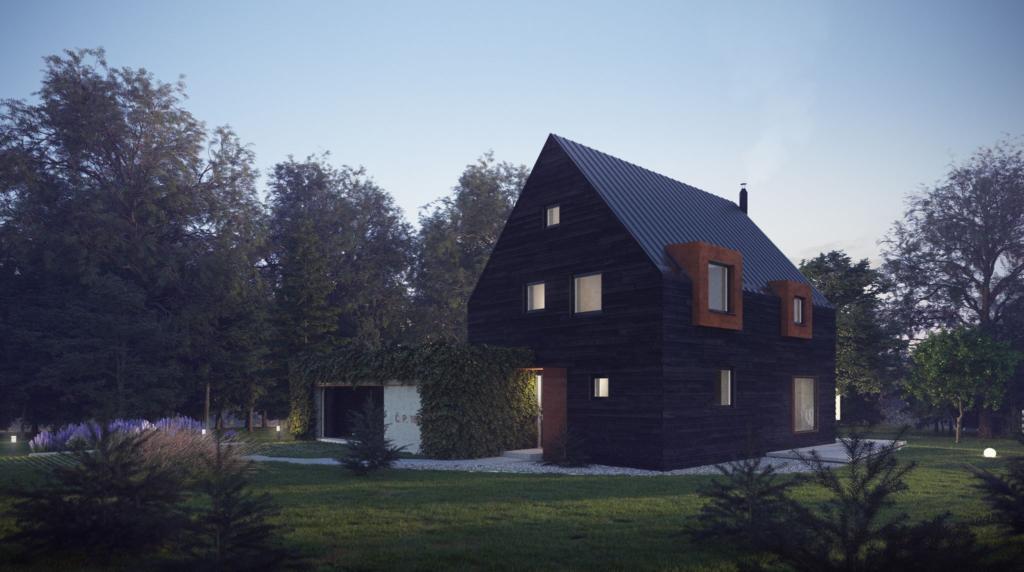 Designový horský dům