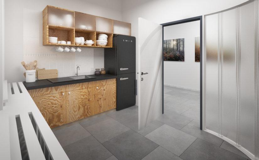 Nová kuchyňka pro účely komunitního centra
