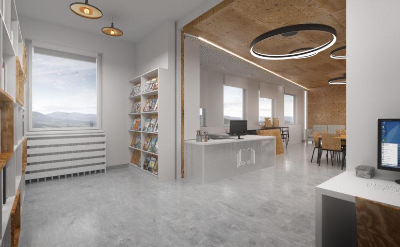 Napojení stávající knihovny na komunitní centrum